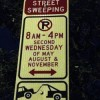 May is Street Sweeping Month in Harrison West