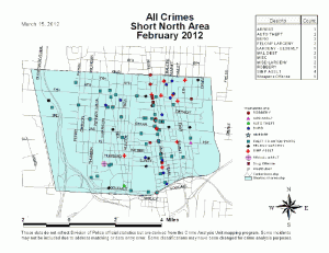 Short North Crime Stats Feb 2012