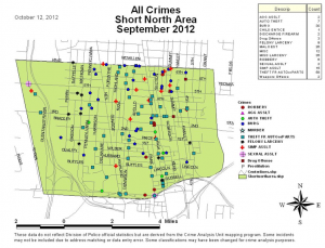 Short North Crime Report 9-2012