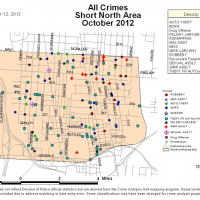 short north crime stats oct 2012
