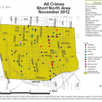 Short North Crime Stats Nov 2012