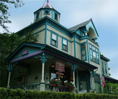 Harrison House Bed And Breakfast Columbus Haunted