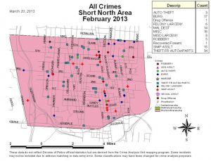 Short North Crime Report - Feb 2013