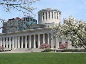OHIO statehouse Spring