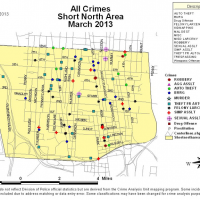 short nort crime report march 2013