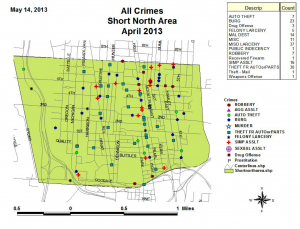 Short north crime report April 2013