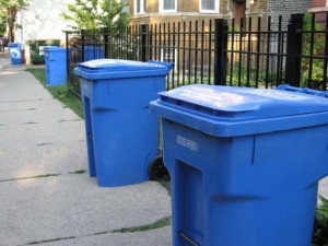 columbus recycling bins