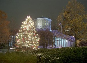 holidays at the Ohio Statehouse