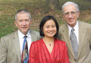 David Niwa, Mariko Kaneda and Leonid Polonsky