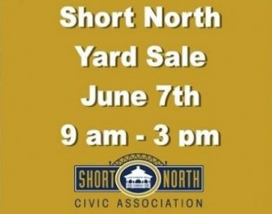 short north Yard Sale 2014
